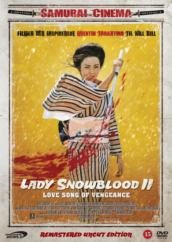 Lady Snowblood 2 Love Song of Vengeance poster